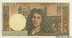 500 Nouveaux Francs MOLIÈRE FRANCE  1966 F.60.09 pr.SPL