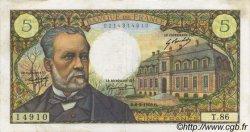5 Francs PASTEUR FRANCE  1969 F.61.09 SUP
