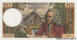 10 Francs VOLTAIRE FRANCE  1963 F.62.00s1b NEUF