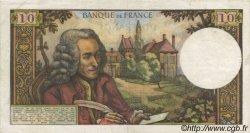 10 Francs VOLTAIRE FRANCE  1965 F.62.12 SUP