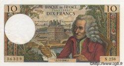 10 Francs VOLTAIRE FRANCE  1966 F.62.22 SPL