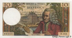 10 Francs VOLTAIRE FRANCE  1966 F.62.23