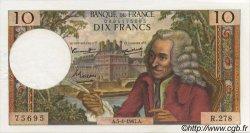 10 Francs VOLTAIRE FRANCE  1967 F.62.24 SUP+