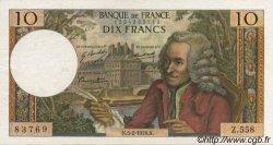 10 Francs VOLTAIRE FRANCE  1970 F.62.42 SUP