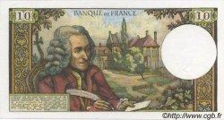 10 Francs VOLTAIRE FRANCE  1972 F.62.55 SUP à SPL