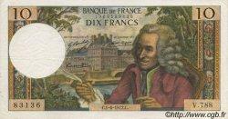 10 Francs VOLTAIRE FRANCE  1972 F.62.57 SUP
