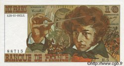 10 Francs BERLIOZ FRANCE  1972 F.63.01 SPL+