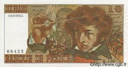 10 Francs BERLIOZ FRANCE  1975 F.63.08 AU+