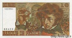10 Francs BERLIOZ FRANCE  1975 F.63.08 SPL+