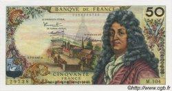 50 Francs RACINE FRANCE  1967 F.64.09 pr.SPL