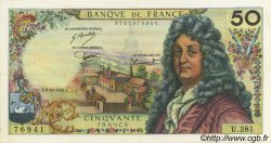 50 Francs RACINE FRANCE  1975 F.64.31 SUP