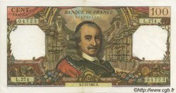 100 Francs CORNEILLE FRANCE  1967 F.65.19 SPL