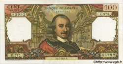 100 Francs CORNEILLE FRANCE  1971 F.65.36 SUP+