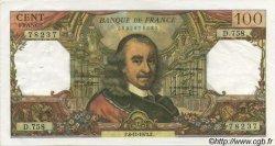 100 Francs CORNEILLE FRANCE  1973 F.65.44 SUP