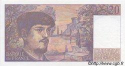 20 Francs DEBUSSY FRANCE  1986 F.66.07 SPL+