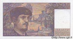 20 Francs DEBUSSY FRANCE  1987 F.66.08 pr.SPL