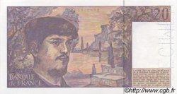20 Francs DEBUSSY à fil de sécurité FRANCE  1990 F.66bis.00 NEUF