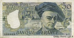 50 Francs QUENTIN DE LA TOUR FRANCE  1976 F.67.01 TB à TTB