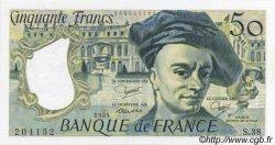 50 Francs QUENTIN DE LA TOUR FRANCE  1984 F.67.10 NEUF