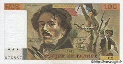 100 Francs DELACROIX FRANCE  1978 F.68.02 pr.SPL