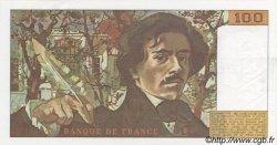 100 Francs DELACROIX modifié FRANCE  1980 F.69.04 NEUF