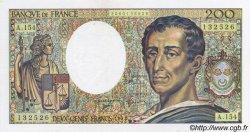200 Francs MONTESQUIEU FRANCE  1992 F.70.12c SPL+