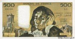 500 Francs PASCAL FRANCE  1968 F.71.01 SUP+