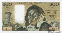 500 Francs PASCAL FRANCE  1980 F.71.21 SPL+