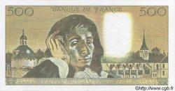 500 Francs PASCAL FRANCE  1990 F.71.43 pr.SPL