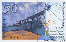 50 Francs SAINT-EXUPÉRY FRANCE  1993 F.72.02