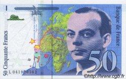 50 Francs SAINT-EXUPÉRY sans STRAP FRANCE  1997 F.72qua.04 NEUF