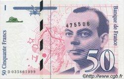 50 Francs SAINT-EXUPÉRY modifié FRANCE  1992 F.73.04 NEUF