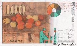 100 Francs CÉZANNE FRANCE  1997 F.74.01 SPL+