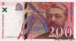200 Francs EIFFEL FRANCE  1997 F.75.04b SUP à SPL