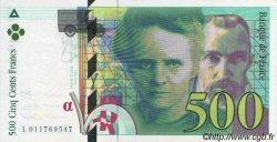500 Francs PIERRE ET MARIE CURIE modifié FRANCE  1994 F.76.01 pr.NEUF
