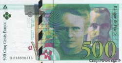 500 Francs PIERRE ET MARIE CURIE modifié FRANCE  2000 F.76.05 SPL