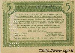 5 Francs BON DE SOLIDARITÉ FRANCE régionalisme et divers  1941 KL.05As SPL