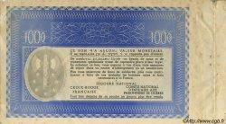 1000 Francs BON DE SOLIDARITÉ FRANCE régionalisme et divers  1941 KL.12As TTB+