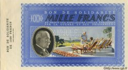 1000 Francs BON DE SOLIDARITÉ FRANCE régionalisme et divers  1941 KL.12As SPL