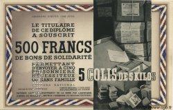 500 Francs - 5 Colis de 5 Kilos FRANCE régionalisme et divers  1941 KLd.06Bs pr.NEUF