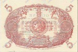 5 Francs Cabasson bleu 1901 GUYANE  1946 P.01e SPL