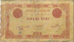 100 Francs type 1852 GUYANE  1887 P.03 TB à TTB