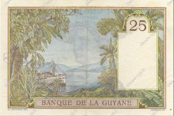 25 Francs type 1927 GUYANE  1940 P.07 pr.SPL