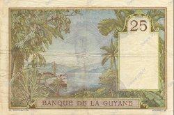 25 Francs type 1927 GUYANE  1942 P.07 pr.SUP