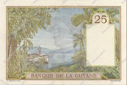 25 Francs type 1927 GUYANE  1942 P.07 SPL+