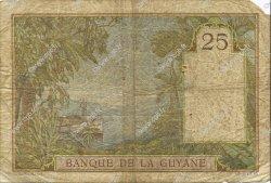 25 Francs GUYANE  1945 P.07 TB