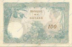 100 Francs GUYANE  1934 P.08 SUP