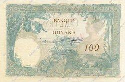 100 Francs type 1927 GUYANE  1940 P.08 pr.SPL