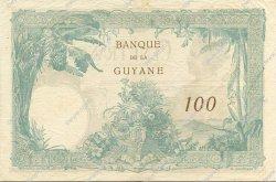 100 Francs type 1927 GUYANE  1942 P.08 pr.SUP