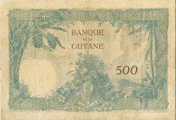500 Francs type 1927 GUYANE  1927 P.09 TTB